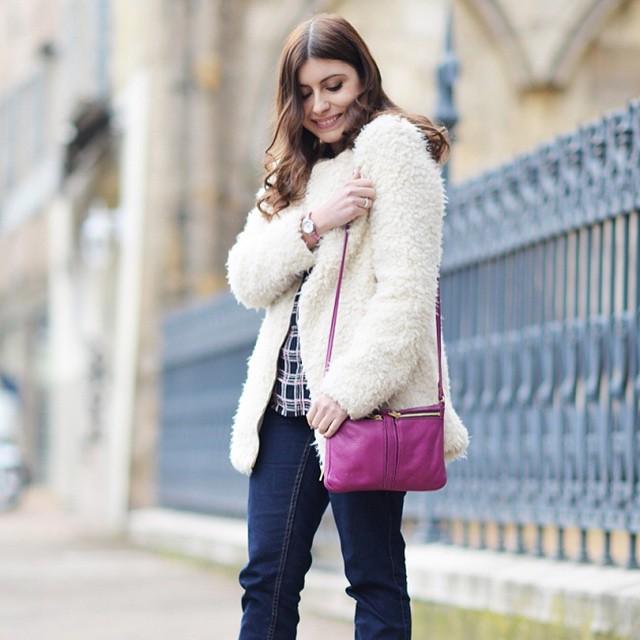 Nouveau look sur le blog #ootd #outfit
