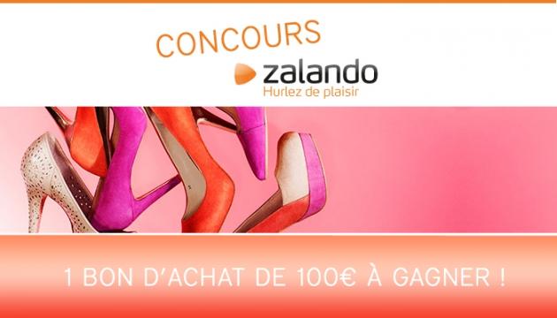 Concours Zalando ! 100€ à gagner !