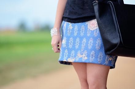 Les jupes imprimées