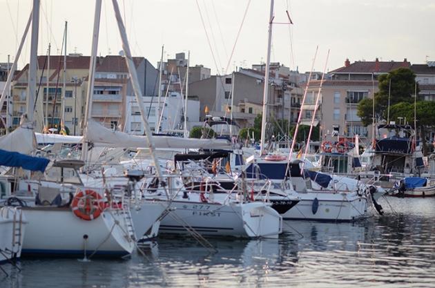 La marina de Cambrils