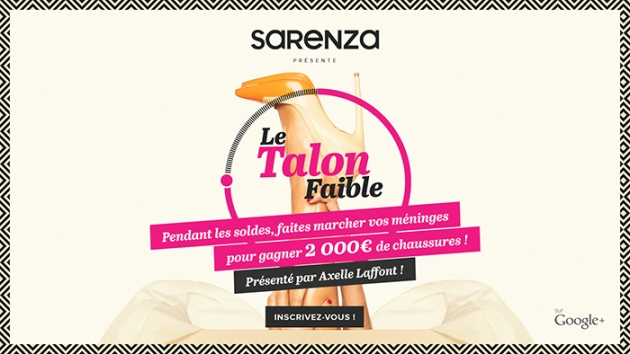 Le talon faible by Sarenza