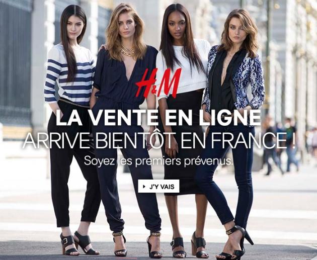 H&M : L'e-shop, enfin !