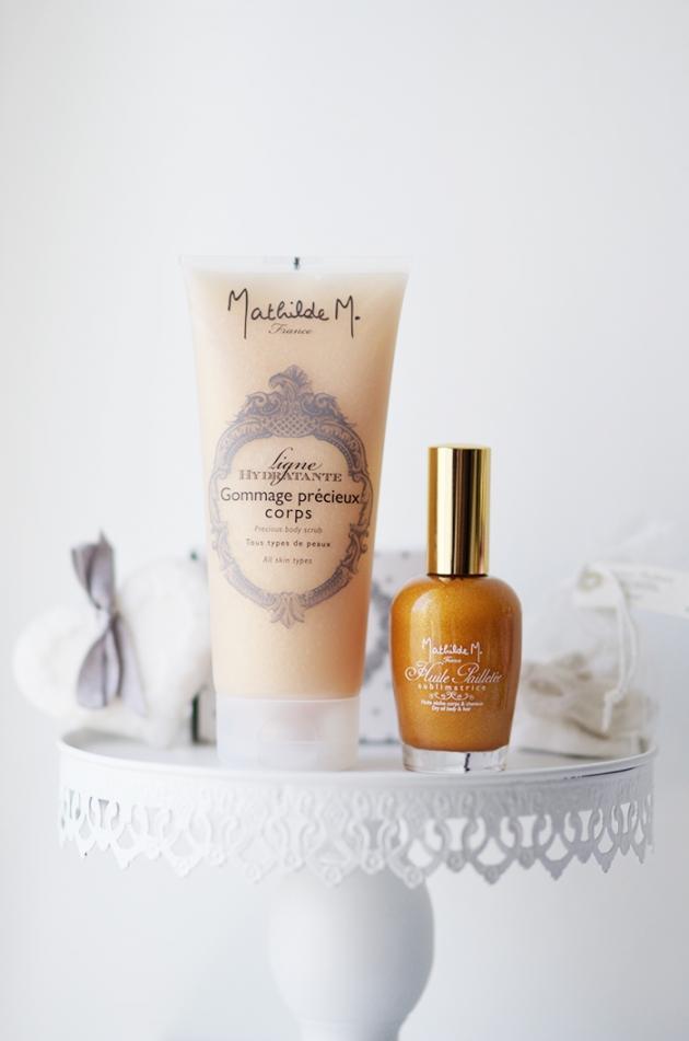 Les cosmétiques Mathilde M.