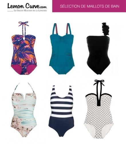 Lemon Curve : Sélection de maillots de bain 1 Pièce