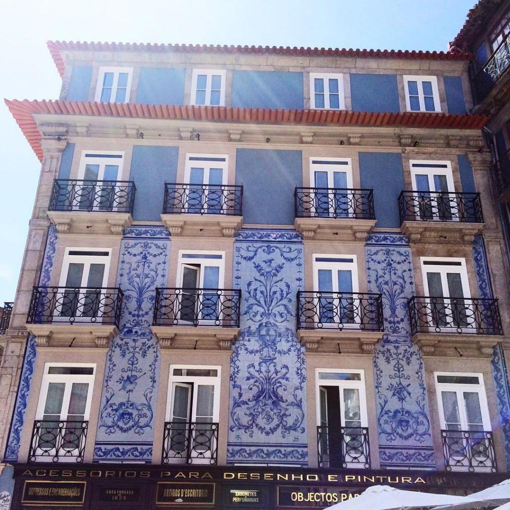 Les faades de Porto