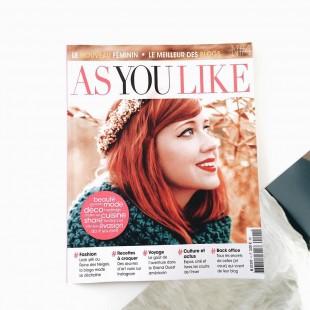 Le dernier asyoulikemagazine est tip top
