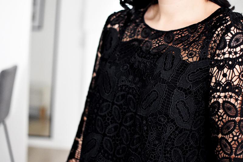 la blouse en dentelle parfaite justine ramos. Black Bedroom Furniture Sets. Home Design Ideas